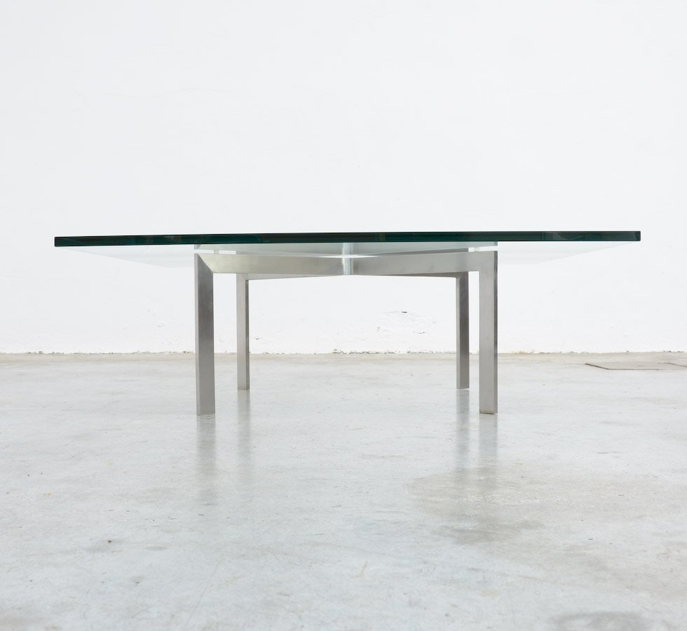 tugendhat coffee table by l mies van der rohe for knoll for sale
