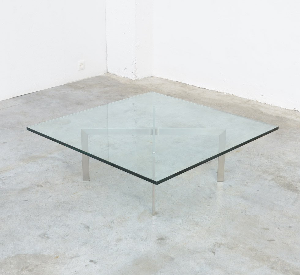 Tugendhat coffee table by l mies van der rohe for knoll - Mies van der rohe ...