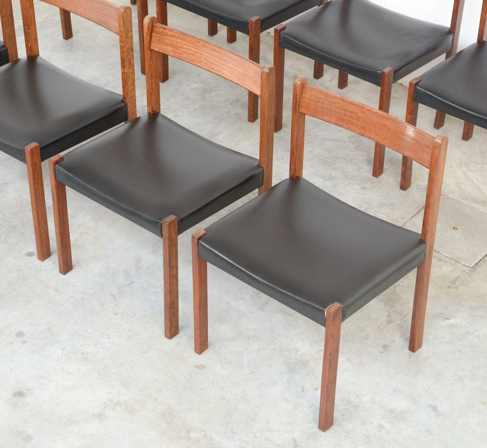 Vintage Dining Chair By Alfred Hendrickx For Belform For Sale At Pamono