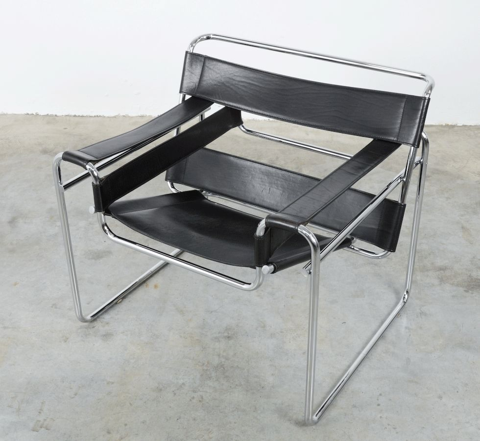 Wassily chair by marcel breuer for fasem 1983 for sale at - Wassily chair replica ...