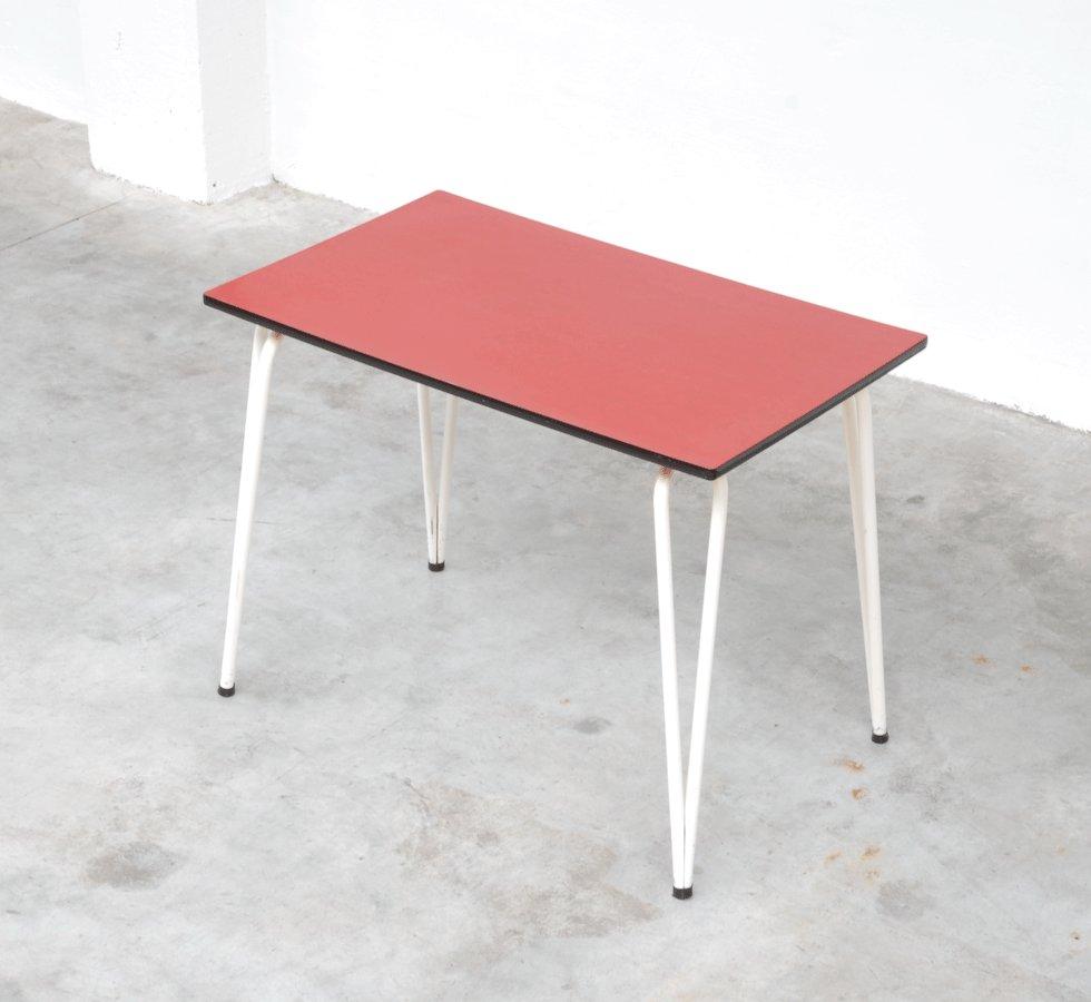 roter vintage formica esstisch bei pamono kaufen, Esstisch ideennn