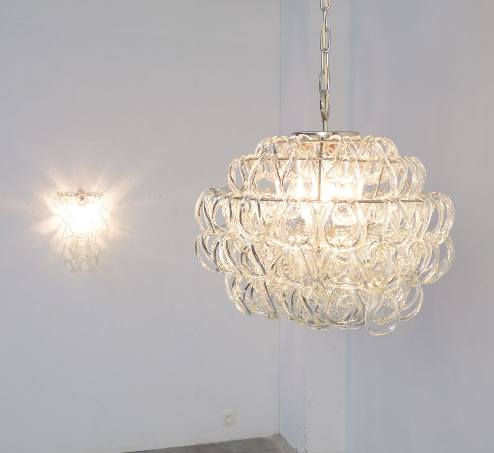Giogali chandelier by angelo mangiarotti for vistosi for sale at giogali chandelier by angelo mangiarotti for vistosi aloadofball Gallery