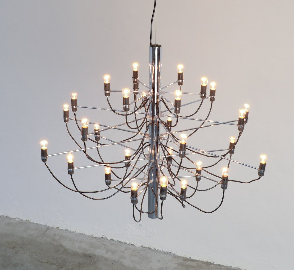 Chandelier 2097/30 by Gino Sarfatti for Arteluce for sale ...