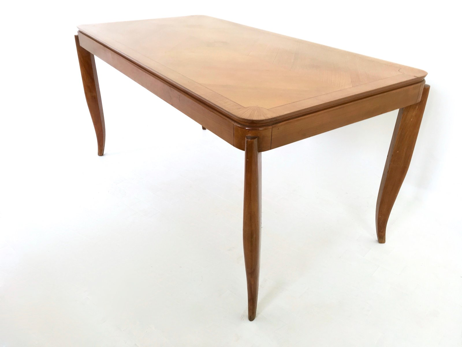 Vintage cherry dining table for sale at pamono for Cherry dining table