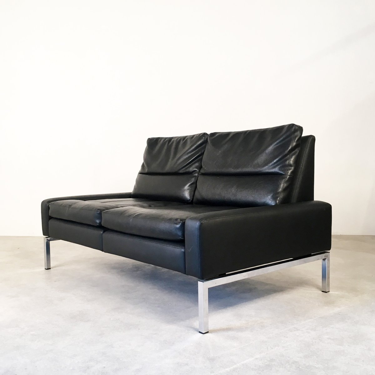 Sofa by hans peter piel for wilkhahn for sale at pamono - Tapizar sofa piel ...