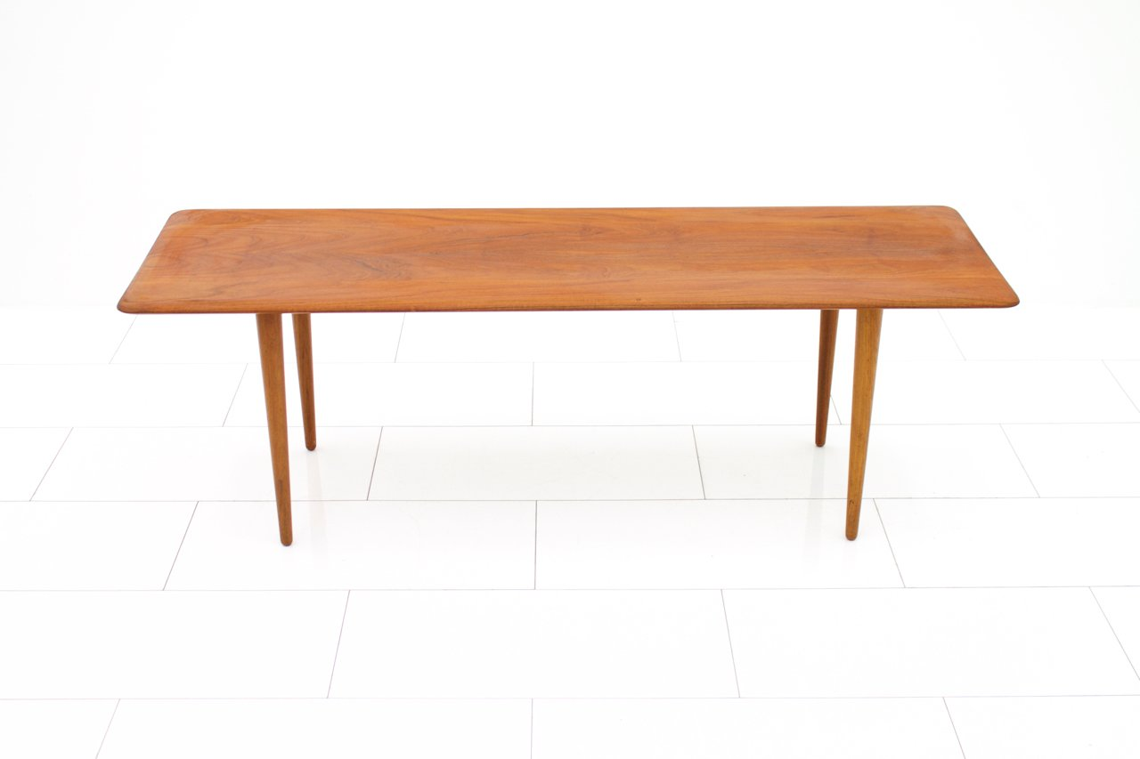 Minimalist Table Minimalist Teak Sofa Table By Peter Hvidt Orla Molgaard Nielsen