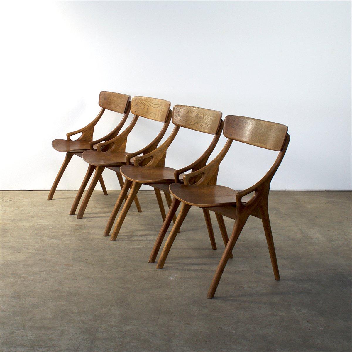 Danish chairs by arne hovmand olsen for moglens kold for Furniture 1950