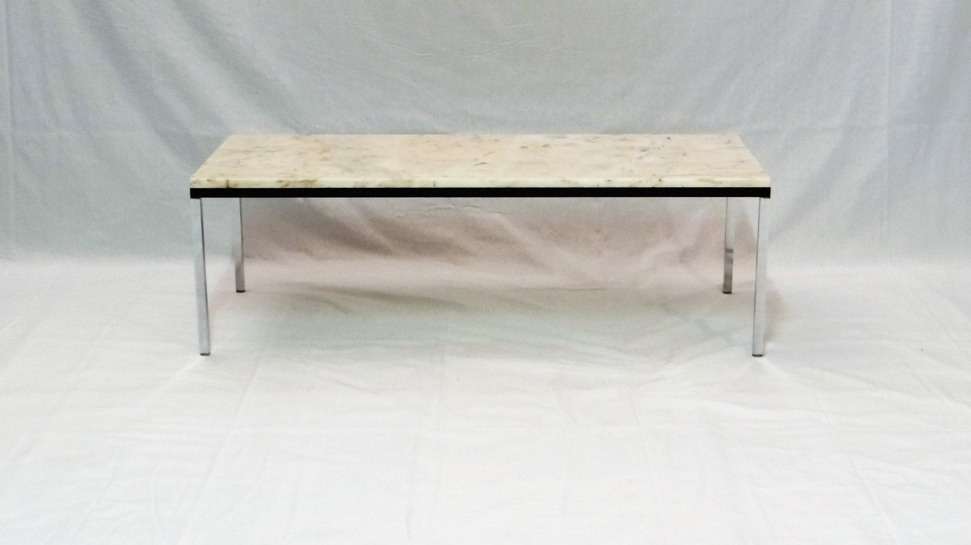 belgian marble coffee tableflorence knoll for knoll, 1960s for