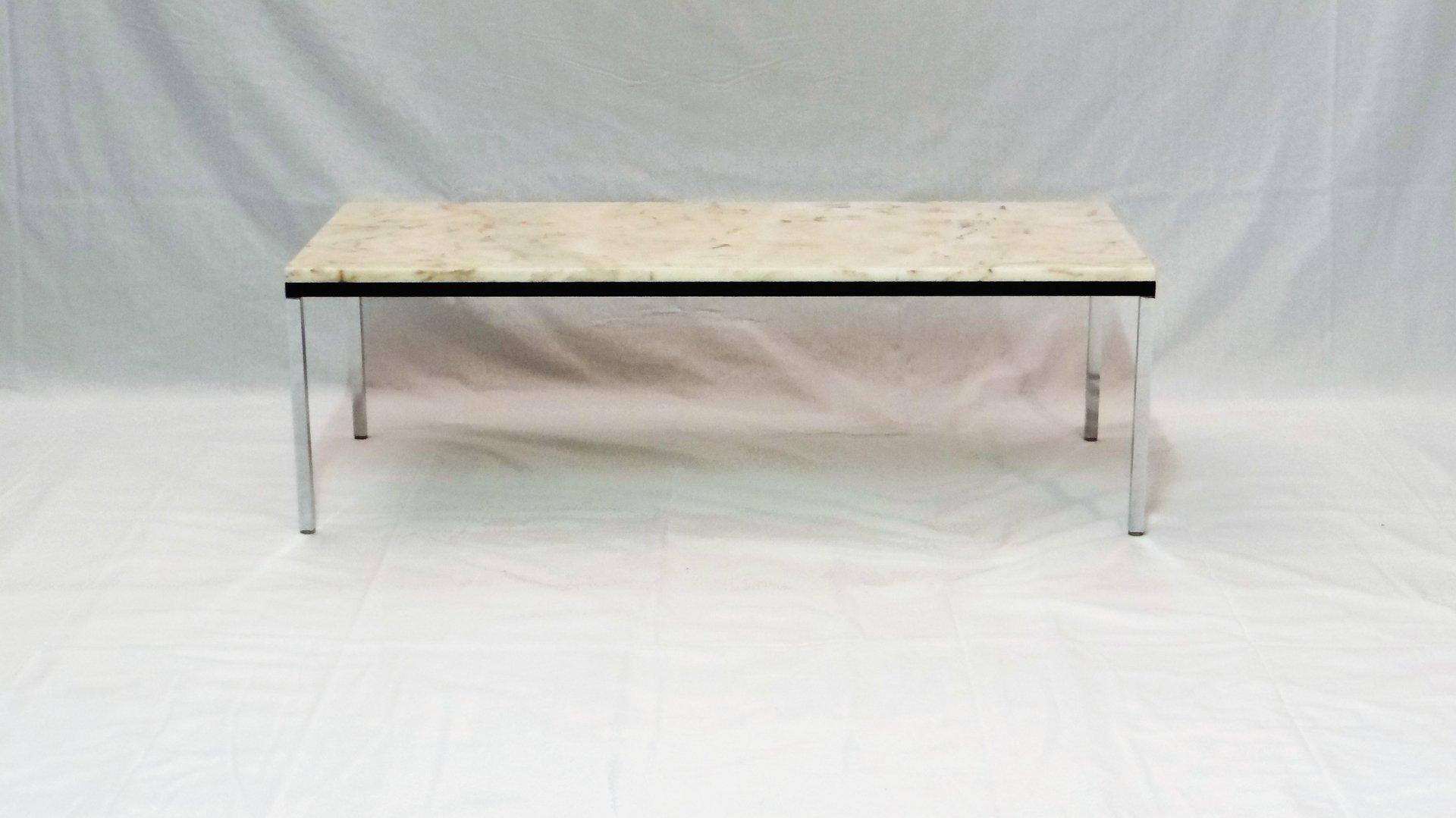 table basse en marbre belgique par florence knoll pour knoll 1960s en vente sur pamono. Black Bedroom Furniture Sets. Home Design Ideas