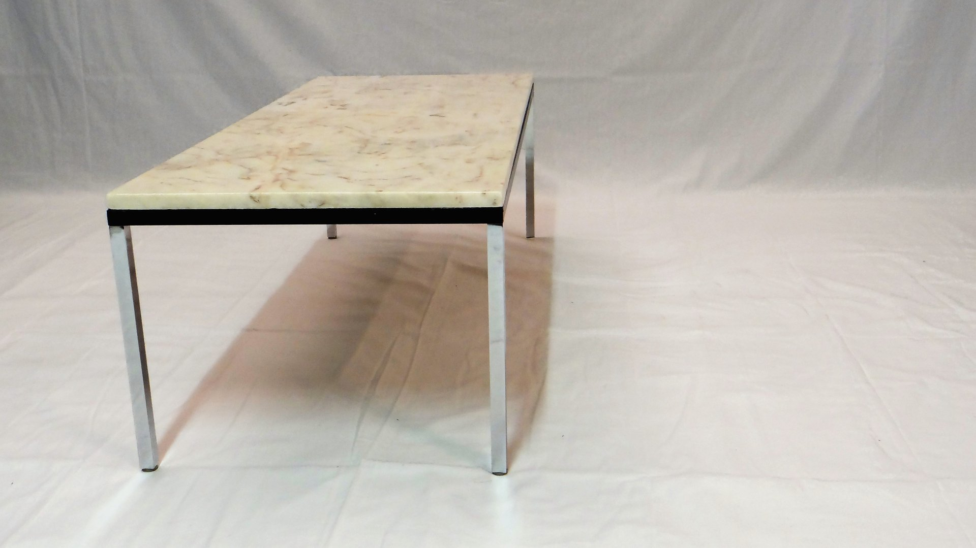Belgian Marble Coffee Table By Florence Knoll For Knoll