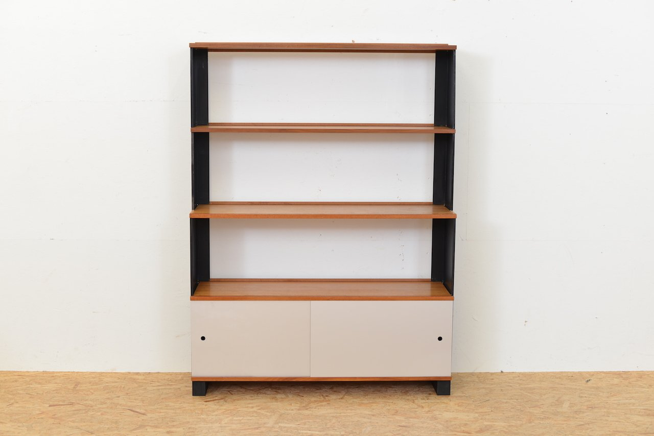 Swiss type ii bookcase by reni tr dinger for wohnhilfe for Types of bookshelves