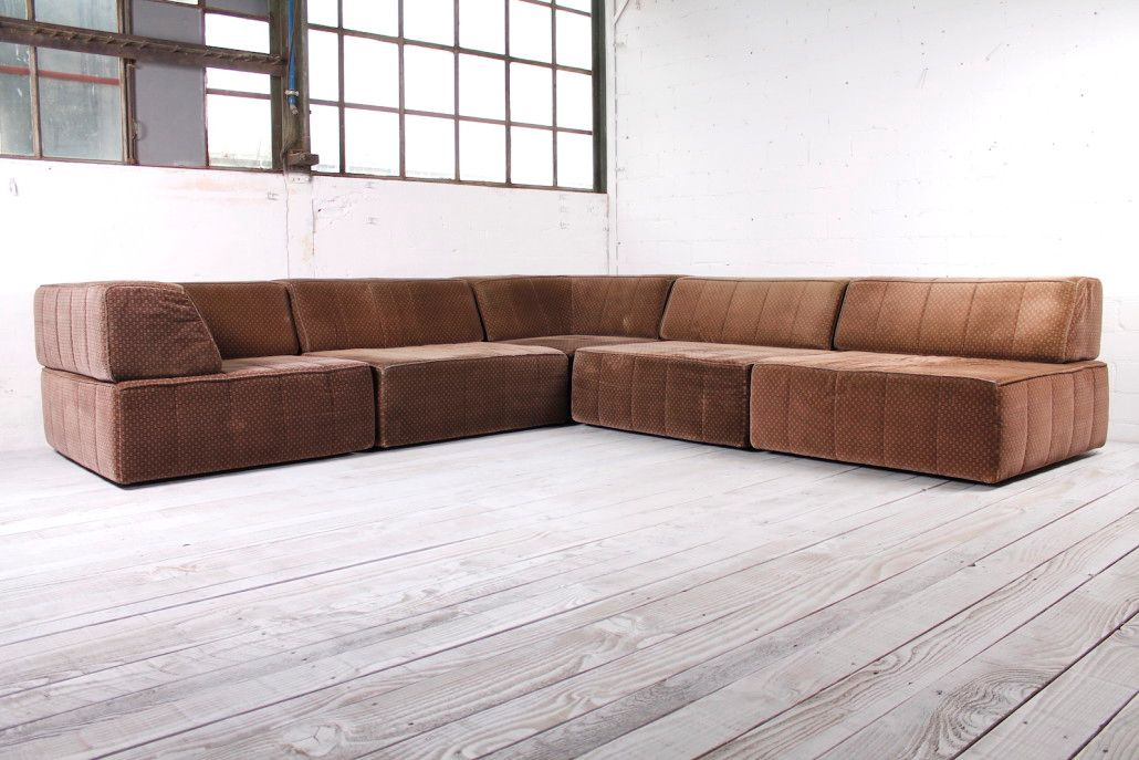 modulares trio sofa von cor 1970er bei pamono kaufen. Black Bedroom Furniture Sets. Home Design Ideas