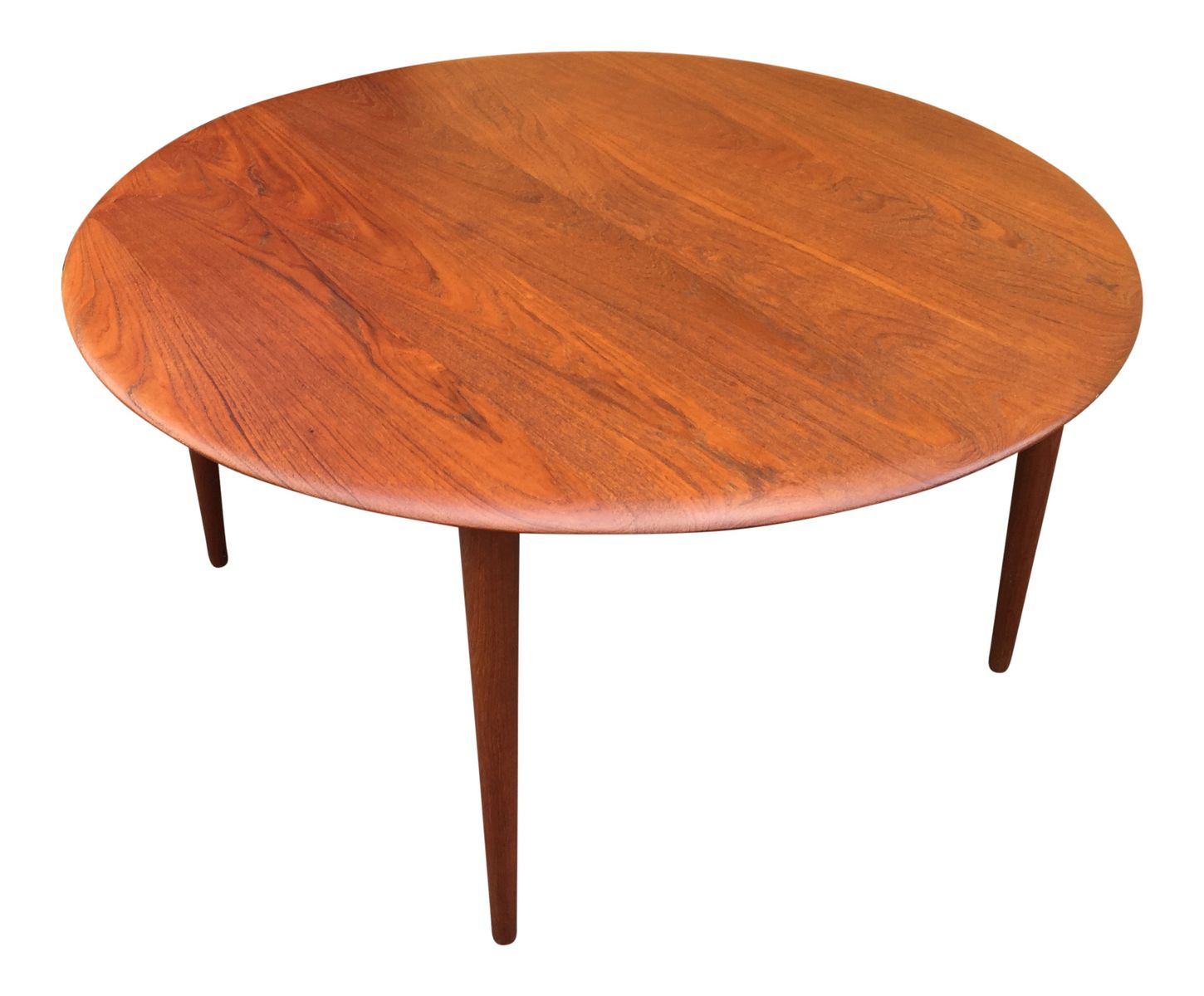 Teak Coffee Table By Hvidt M Lgaard For France Daverkosen 1960s For Sale At Pamono