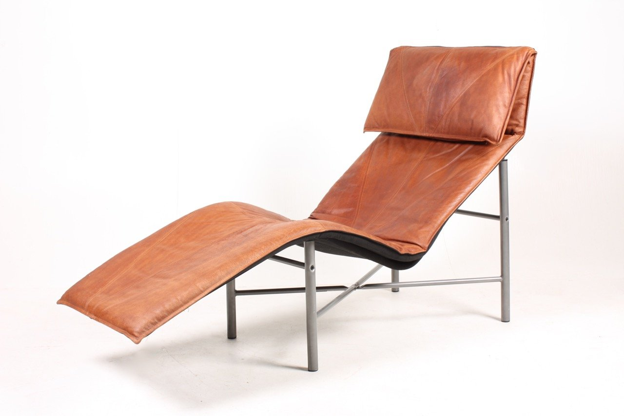 Skye chaise lounge by tord bj rklund for ikea 1980s for for Chaise longue double en bois