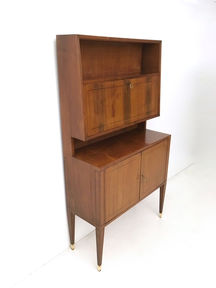 Rosewood and mahogany cabinets in the style of paolo buffa - Mobili anni 50 ...