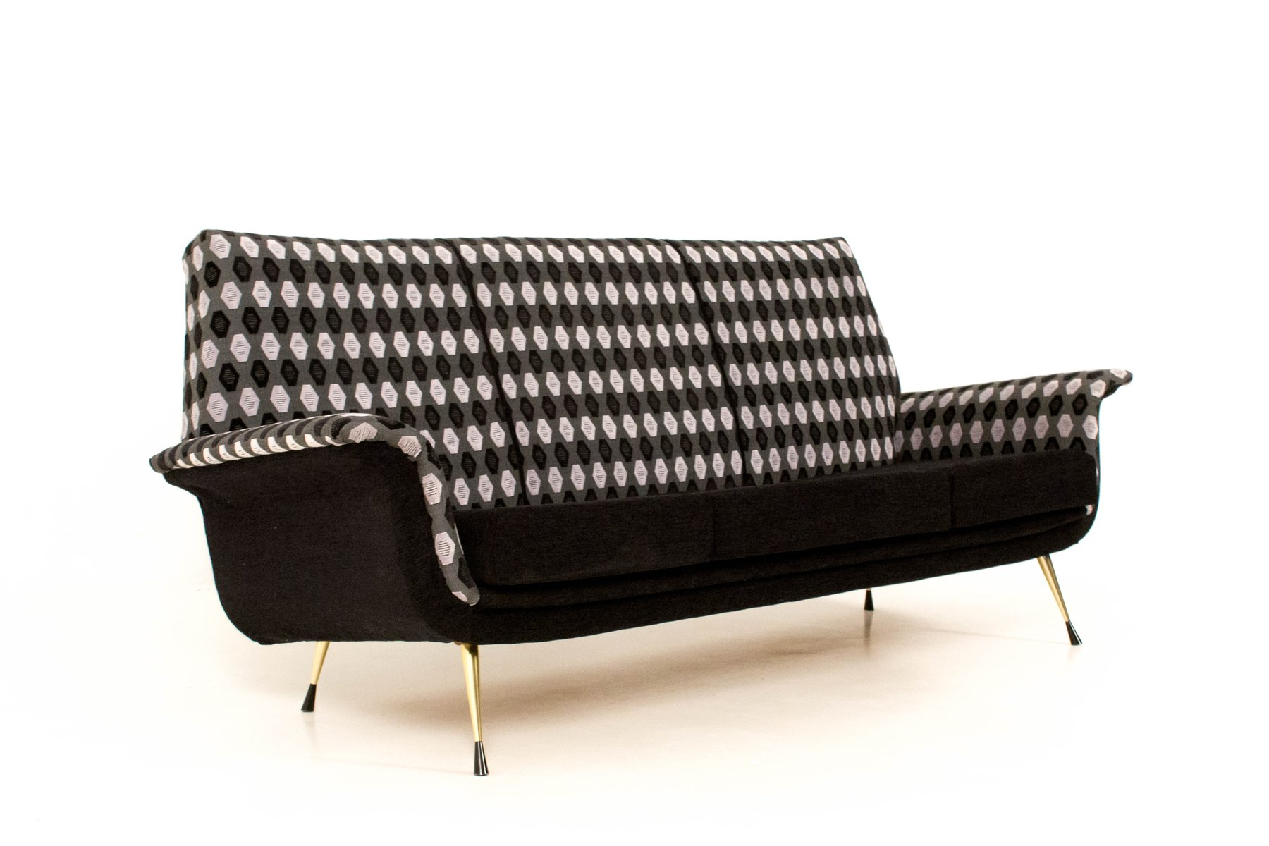 Mid Century Italian Sofa With Pattern 1960s For Sale At Pamono