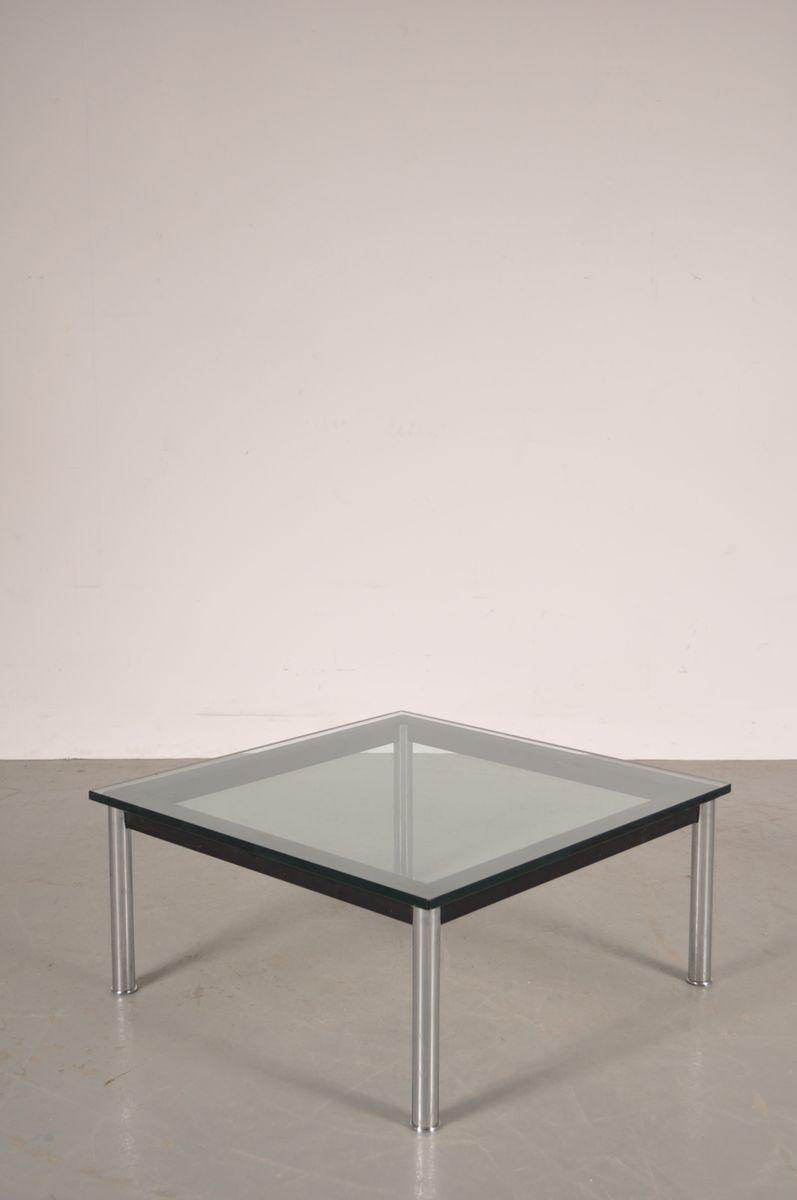 italienischer couchtisch aus metall glas von le. Black Bedroom Furniture Sets. Home Design Ideas