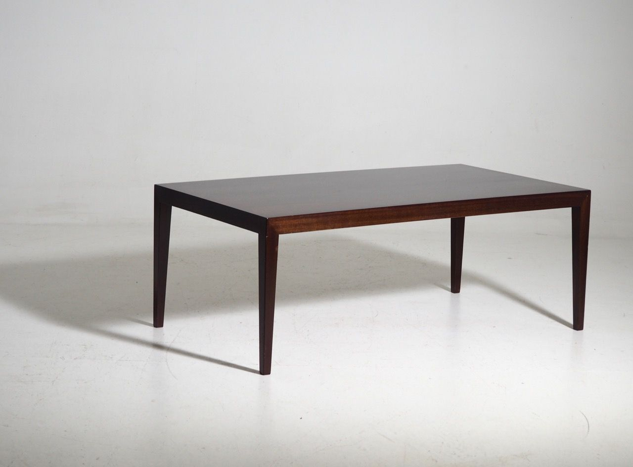 Coffee Table In Rosewood By Severin Hansen For Sale At Pamono