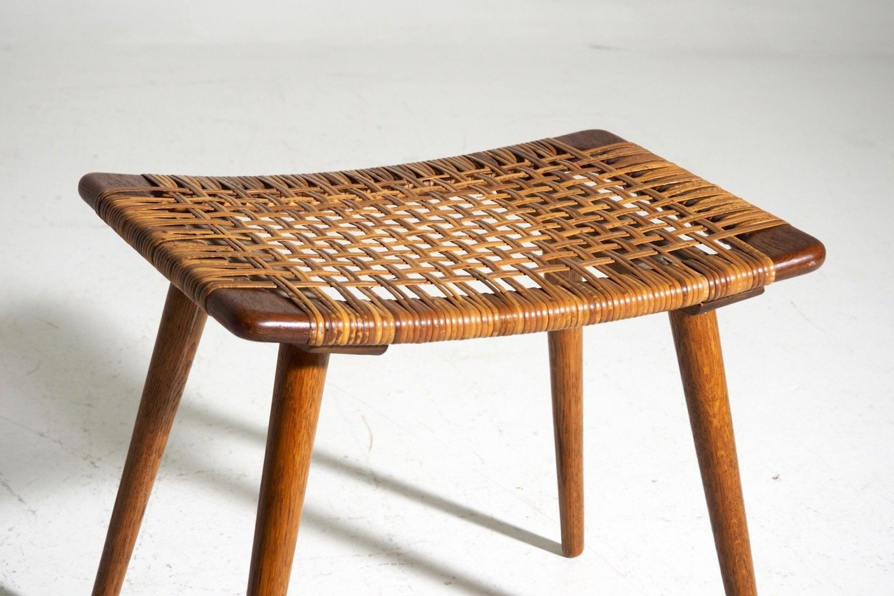 Uncategorized Woven Stools danish teak stool with woven cane seat for sale at pamono seat