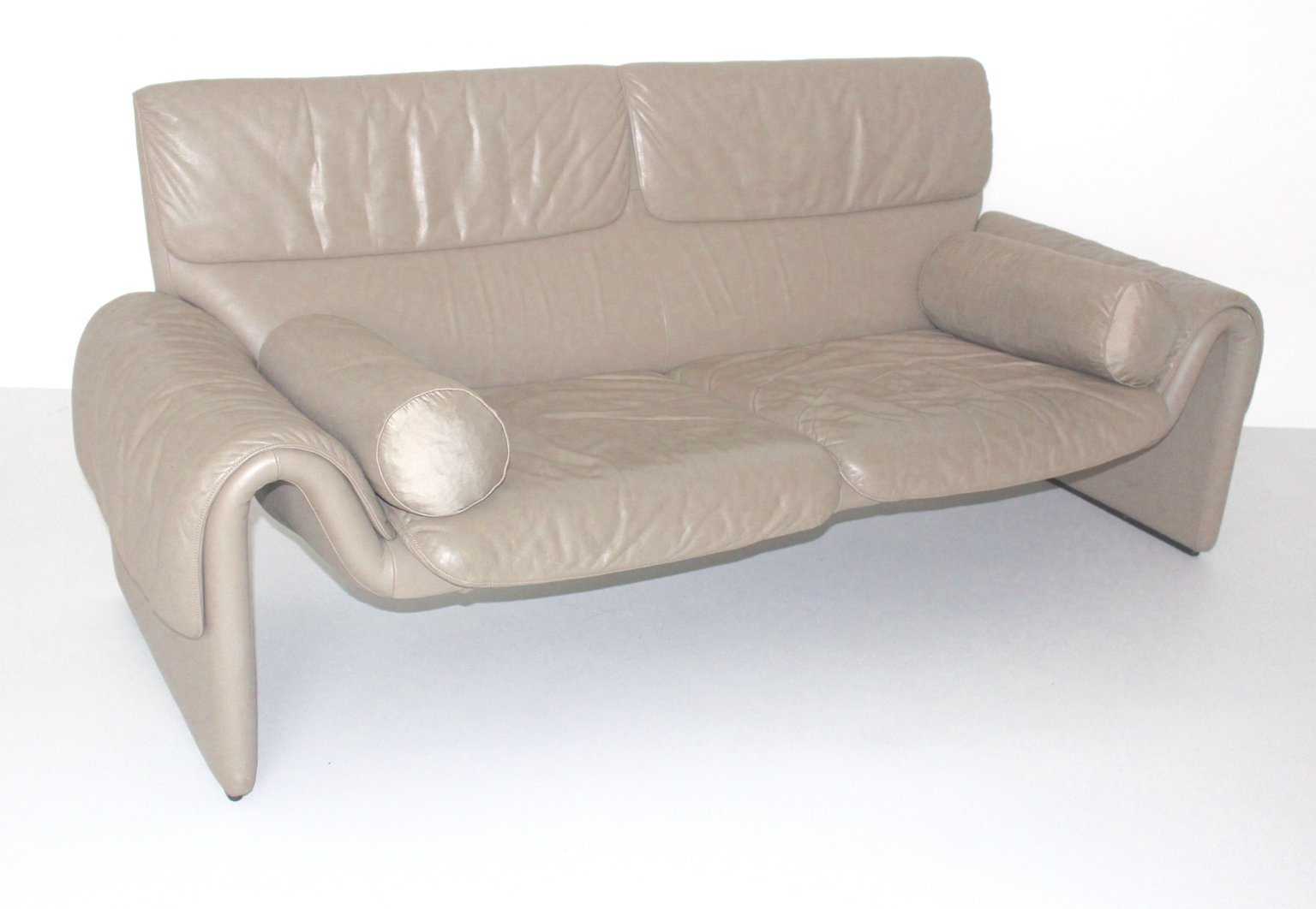 1980s Furniture vintage ds-2011 leather sofa from de sede, 1980s for sale at pamono