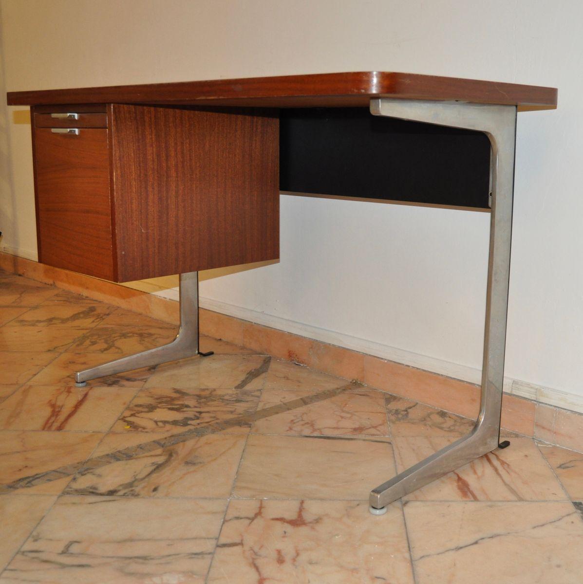 franz sischer mid century schreibtisch von george nelson bei pamono kaufen. Black Bedroom Furniture Sets. Home Design Ideas