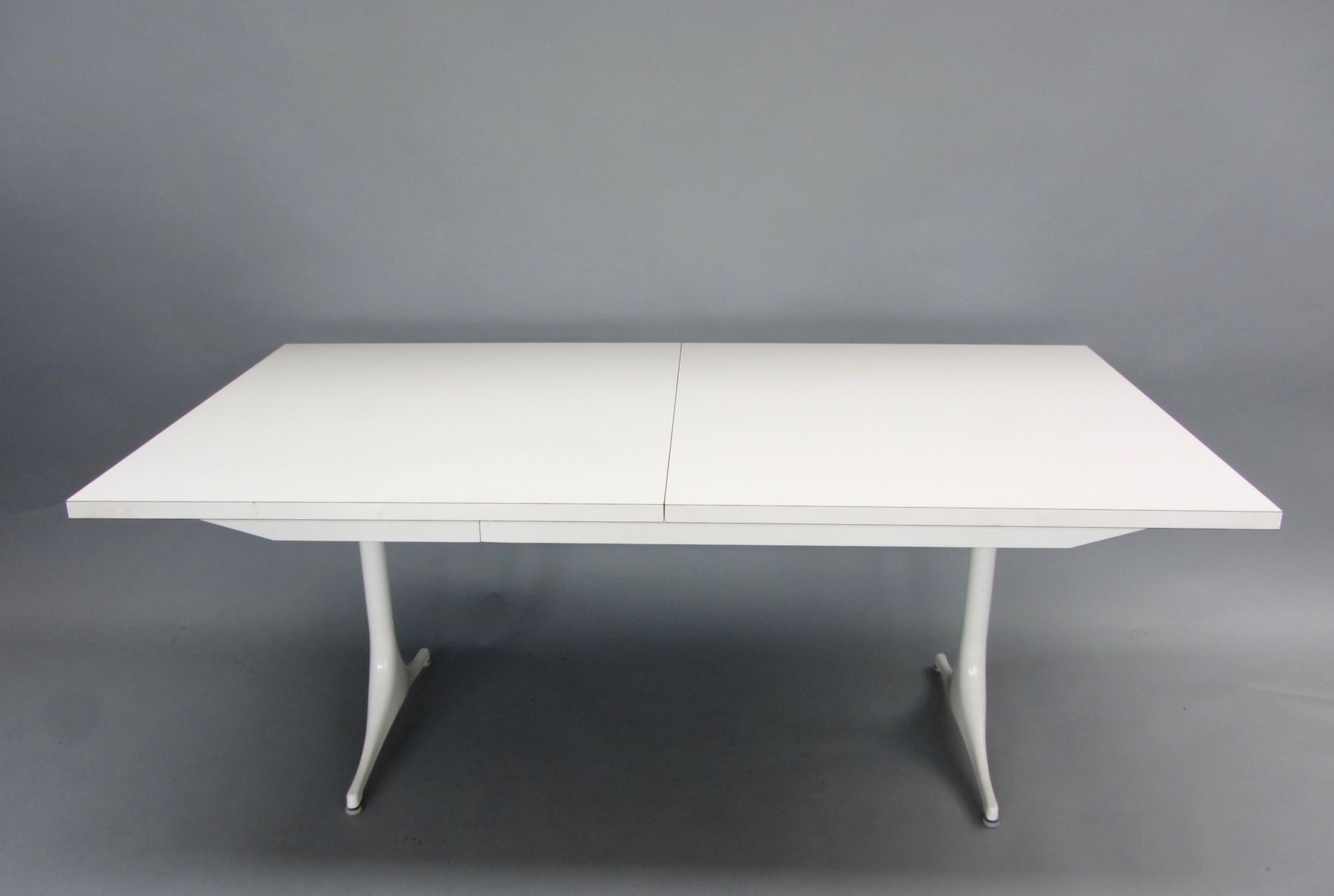extendable dining table by george nelson for herman miller 1