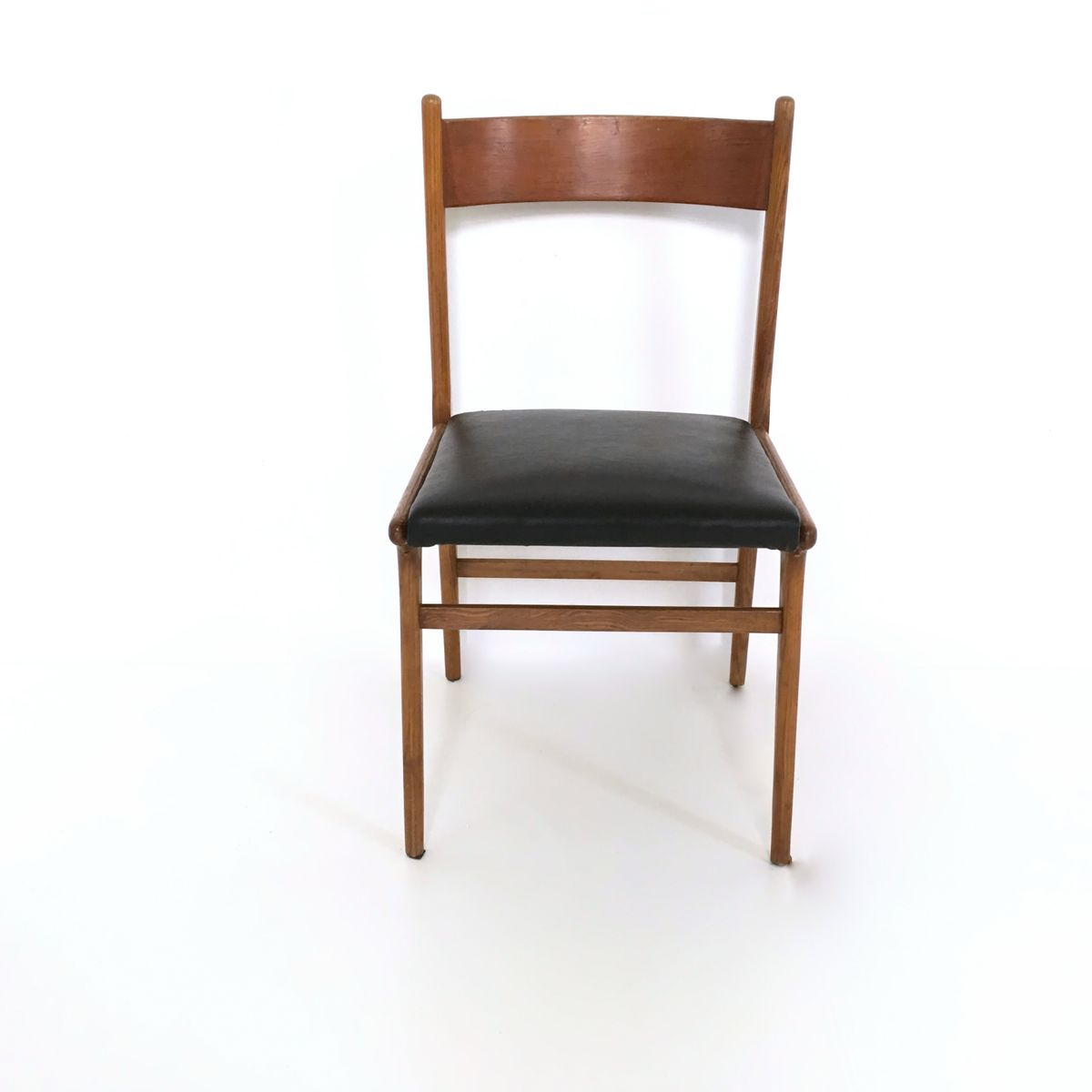Vintage walnut dining chairs s set of for sale at