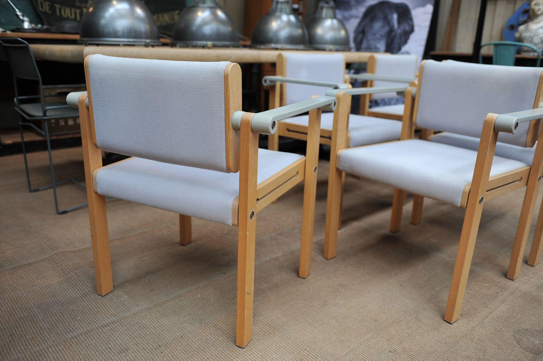 franz sische esszimmerst hle 5er set bei pamono kaufen. Black Bedroom Furniture Sets. Home Design Ideas