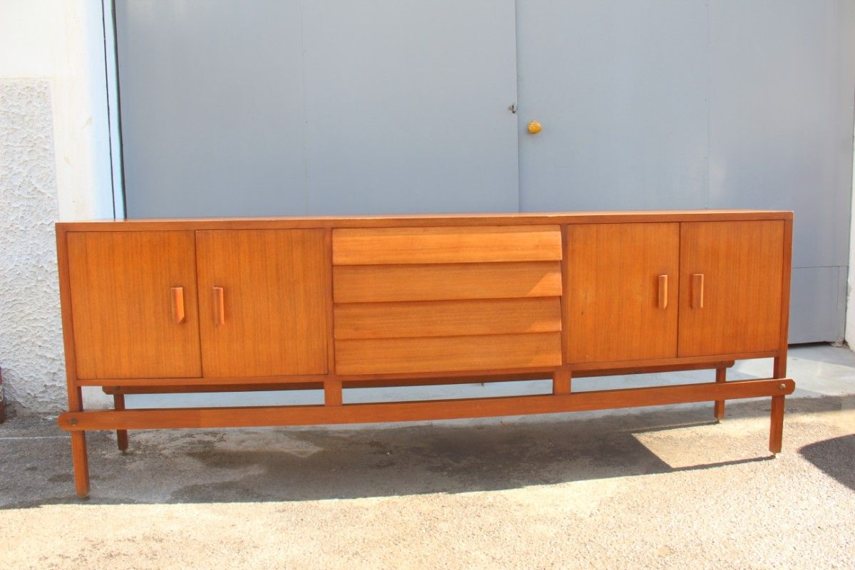 italienisches mid century vintage sideboard 1950er bei. Black Bedroom Furniture Sets. Home Design Ideas