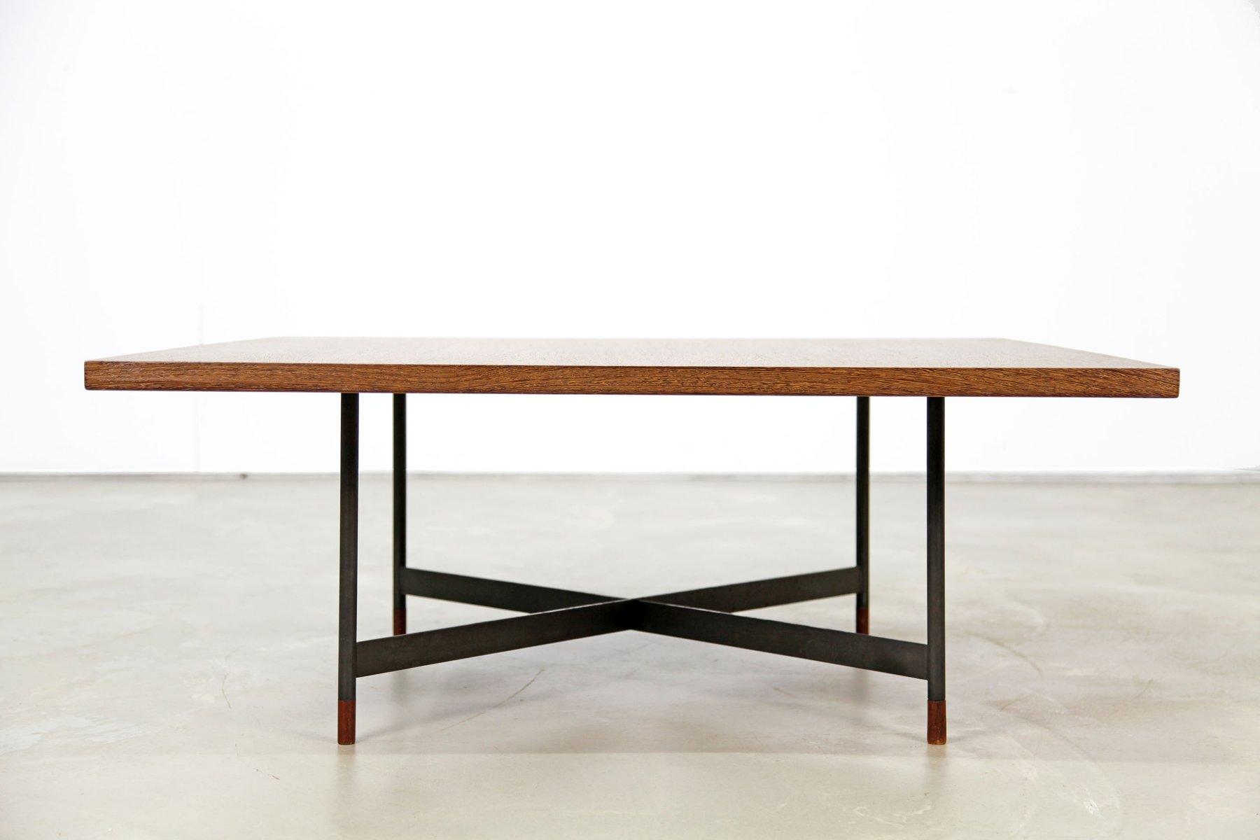 Danish model fj 57 wenge coffee table by finn juhl for - Table wenge ikea ...