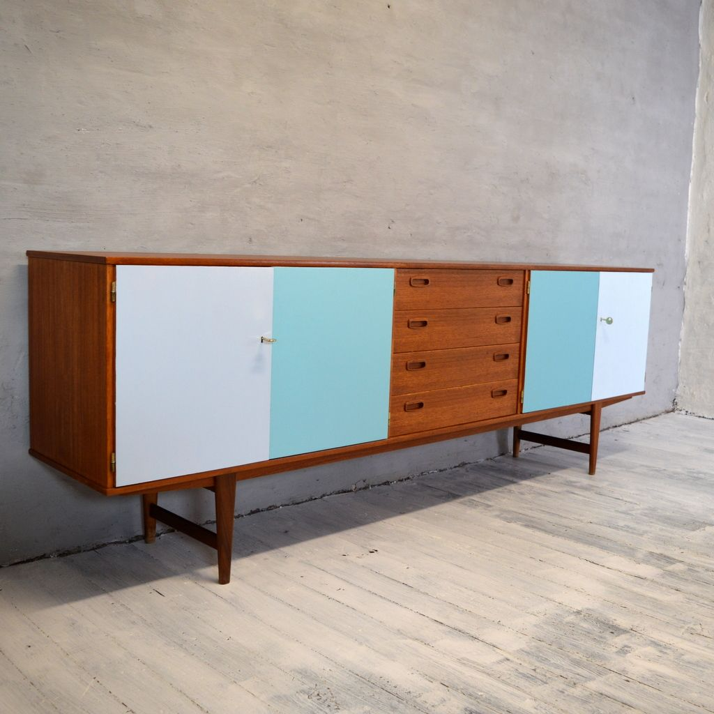 Mid century scandinavian style sideboard for sale at pamono for Sideboard scandi