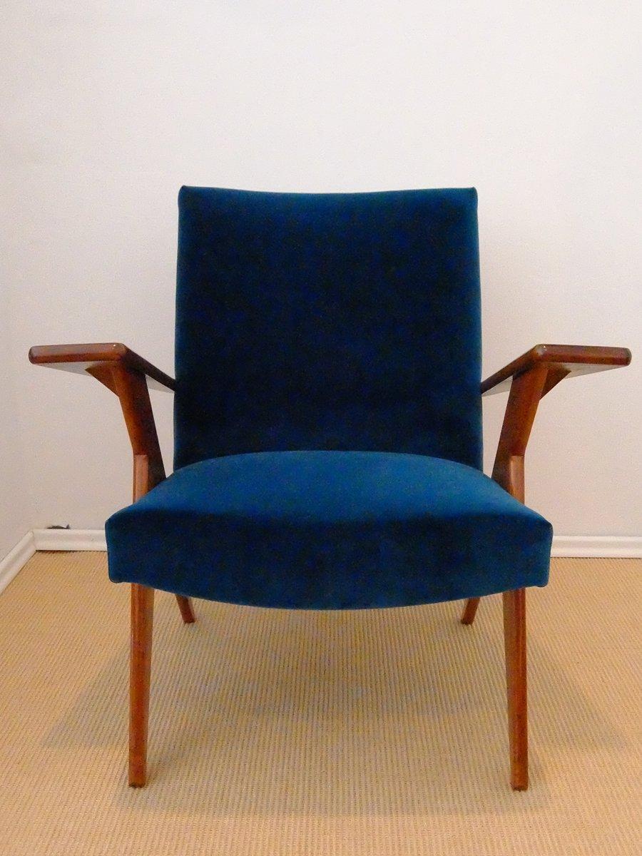 fauteuil en bois de peroba rose et velours bleu par jose zanine caldas bresil 1950s 1 Résultat Supérieur 50 Beau Fauteuil Bleu Velours Galerie 2017 Kqk9