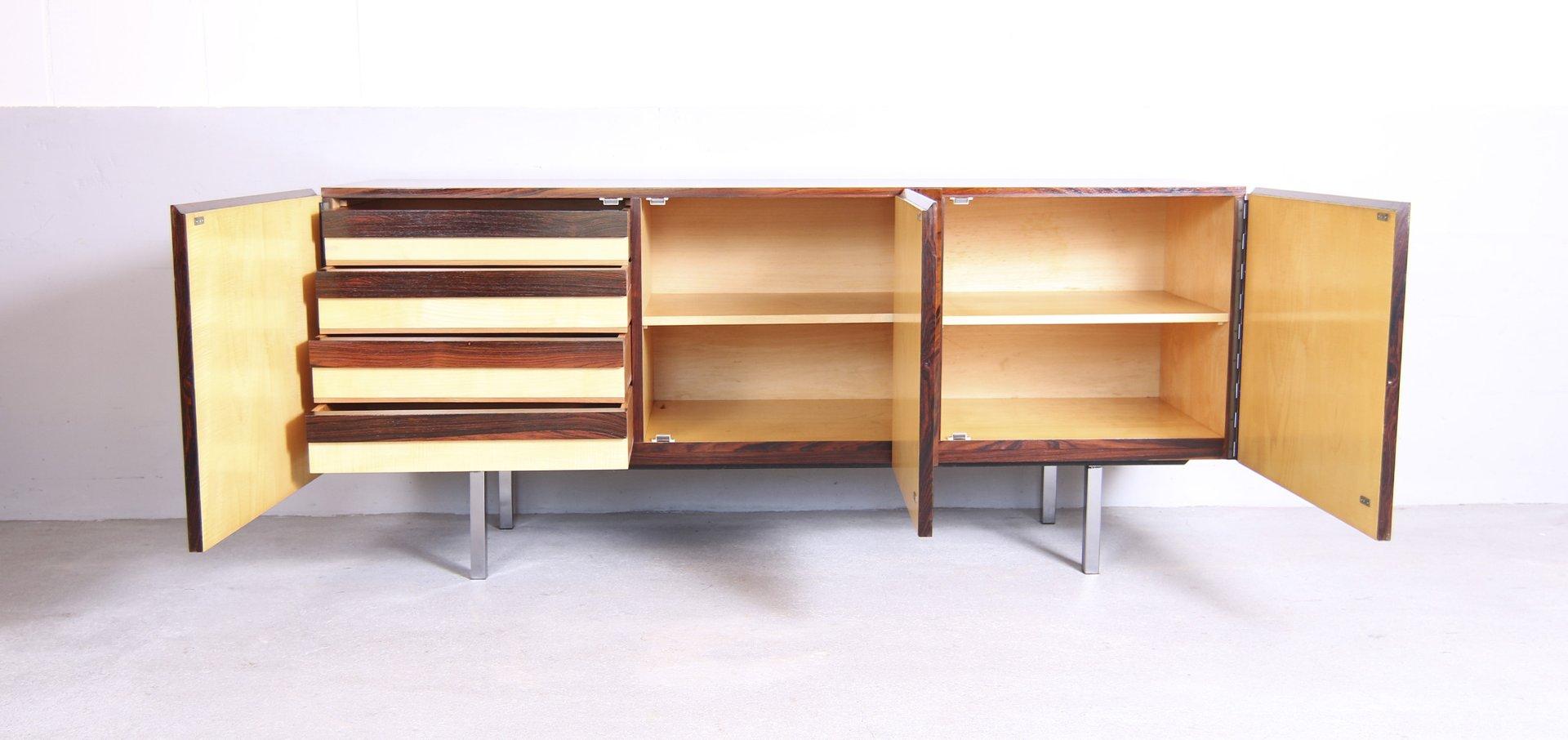 deutsches mid century palisander sideboard von mewa. Black Bedroom Furniture Sets. Home Design Ideas