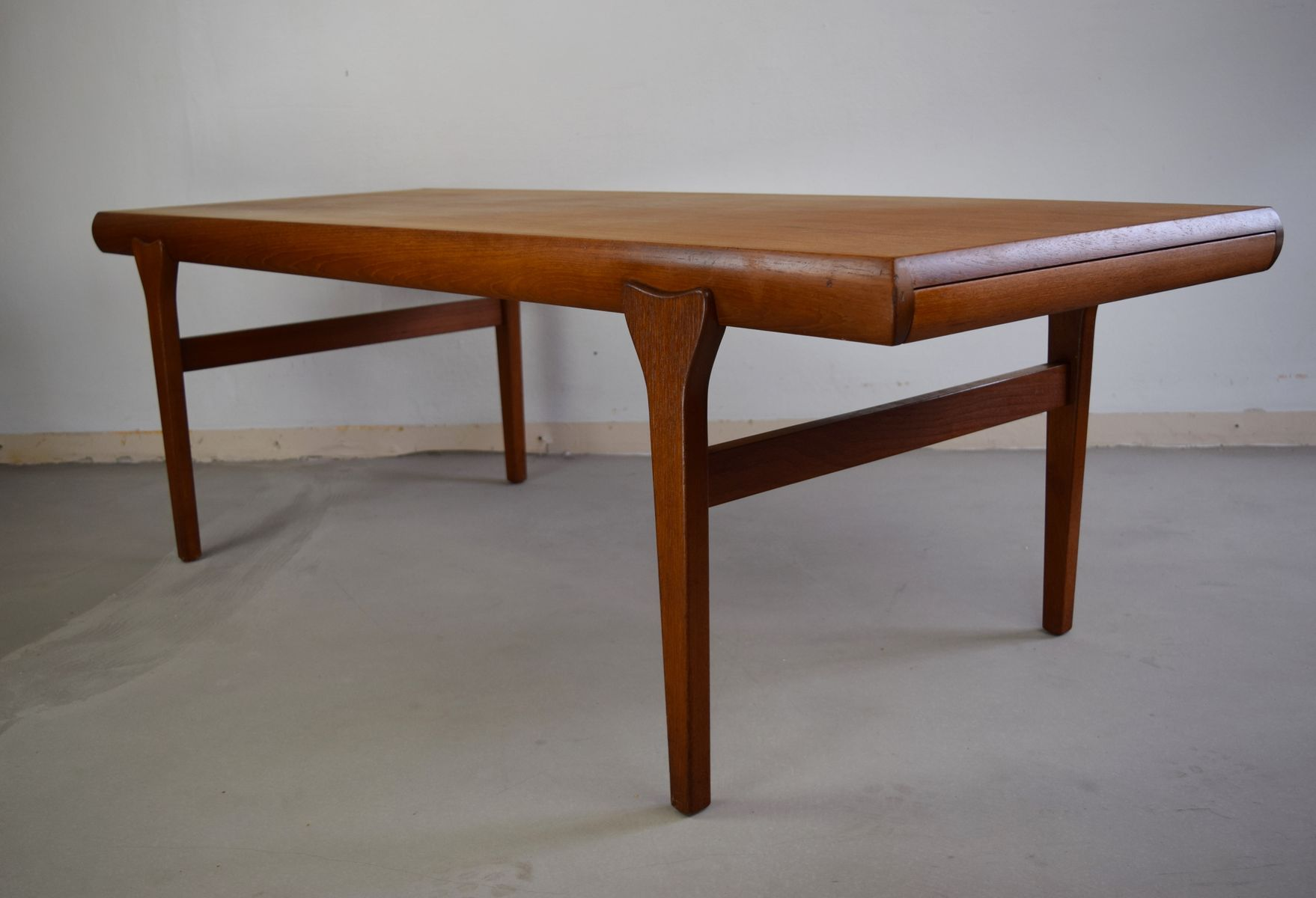 Vintage Teak Coffee Table by Johannes Andersen for CFC Silkeborg