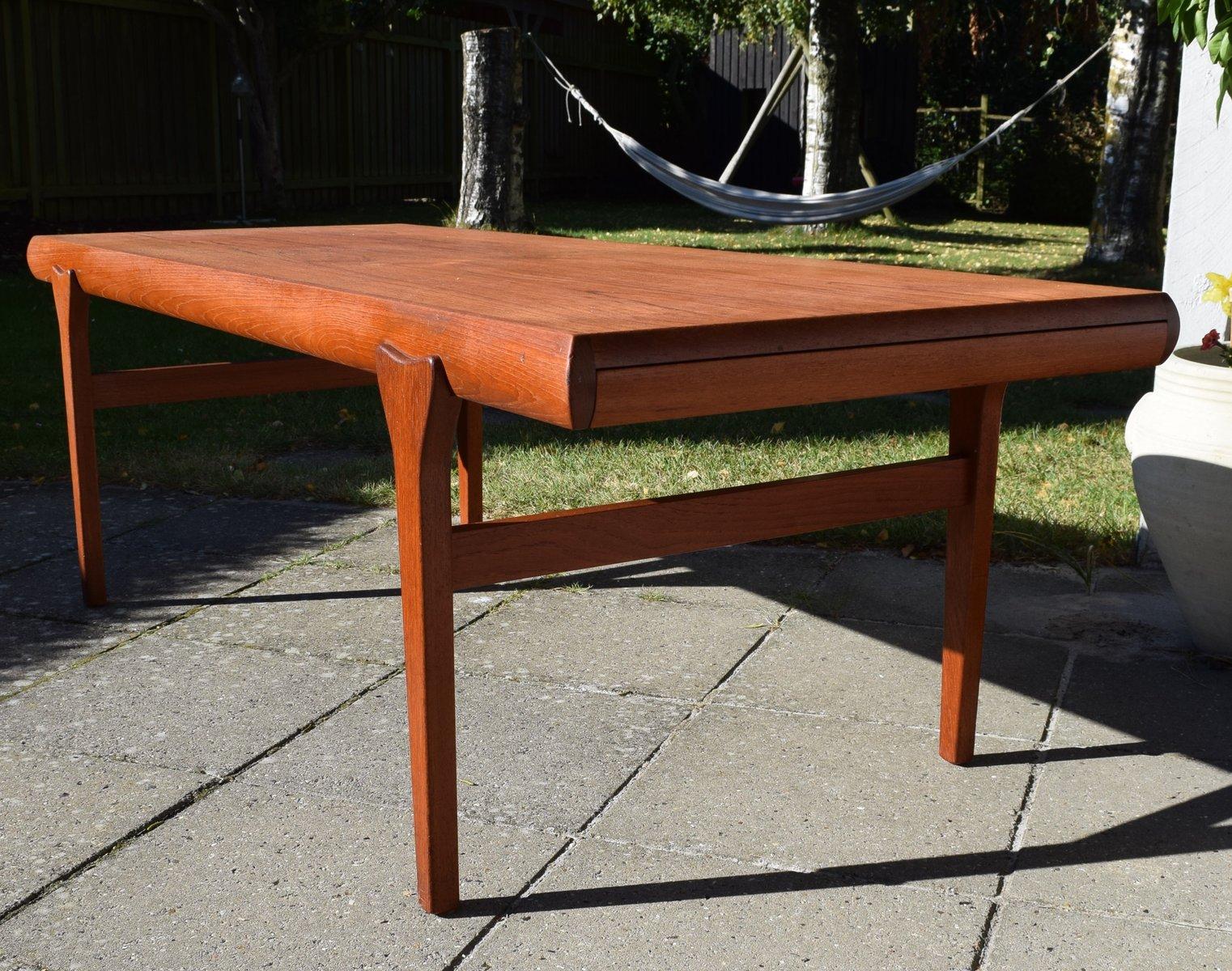 Vintage Teak Coffee Table By Johannes Andersen For Cfc Silkeborg