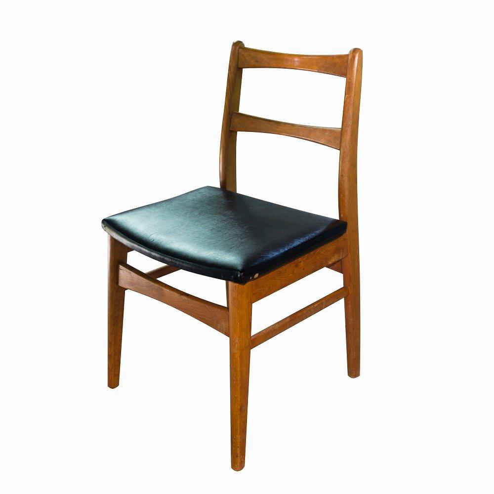 tschechischer mid century schreibtisch mit stuhl 1960er bei pamono kaufen. Black Bedroom Furniture Sets. Home Design Ideas