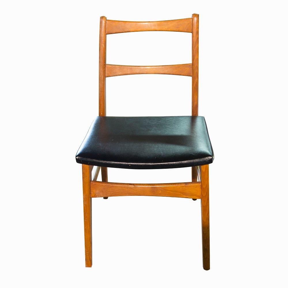 tschechischer mid century schreibtisch mit stuhl 1960er. Black Bedroom Furniture Sets. Home Design Ideas