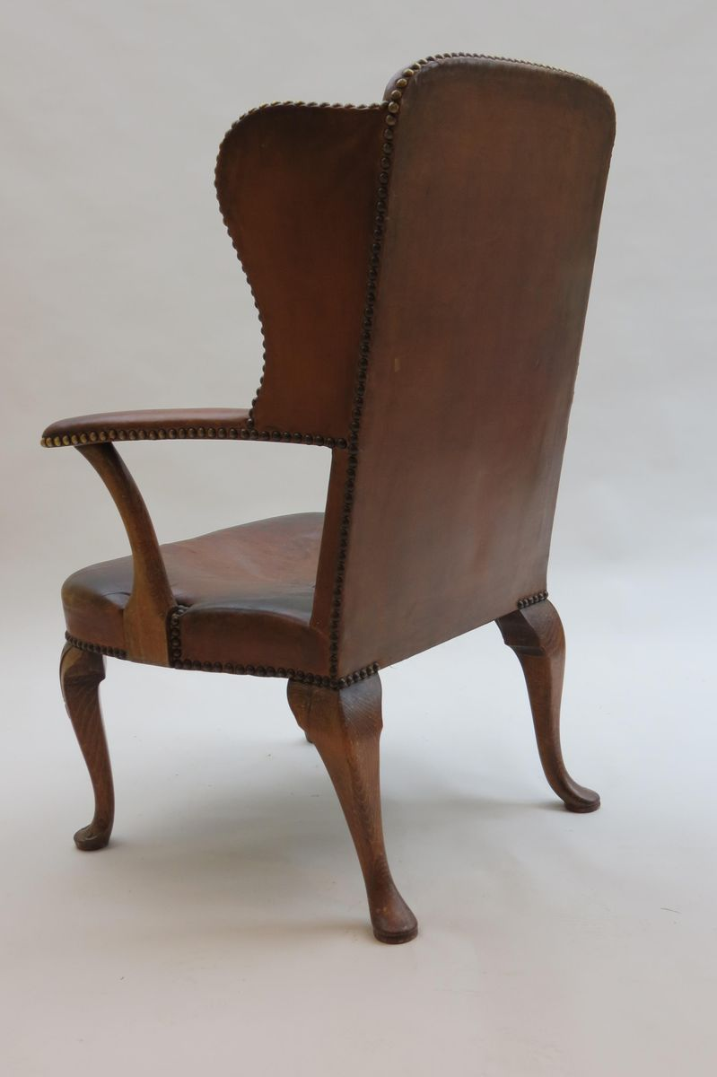 Danish Leather Armchair Danish Leather Armchair By Hansen Lysberg And Therp 1940