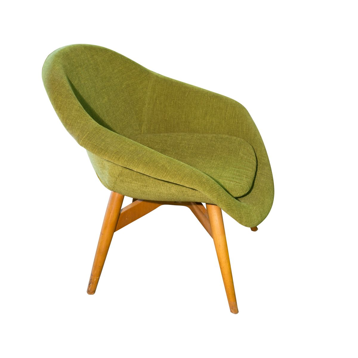 Mid Century Easy Chairs By Frantisek Jirak For Tatra Set