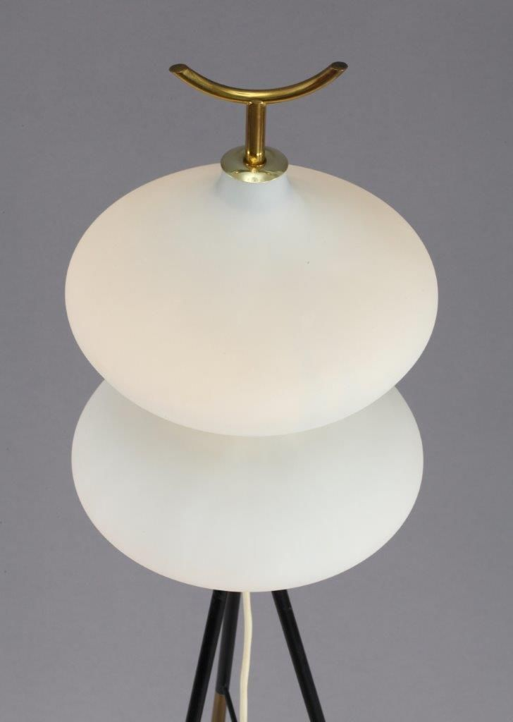 Italian tripod floor lamp 1950s for sale at pamono for 1950 floor lamp