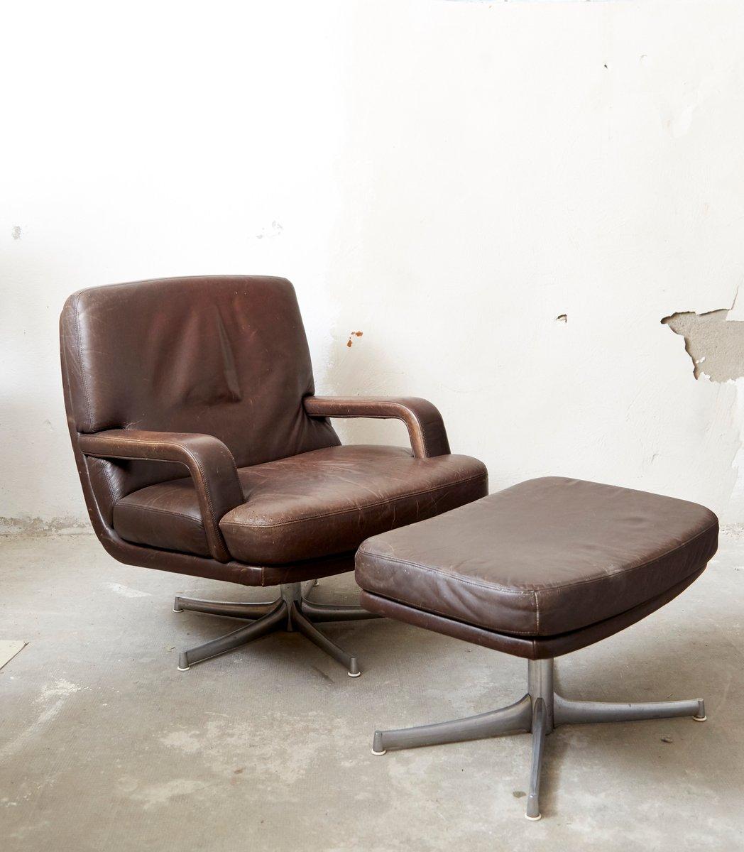 don sessel und ottomane von bernd m nzebrock f r walter. Black Bedroom Furniture Sets. Home Design Ideas
