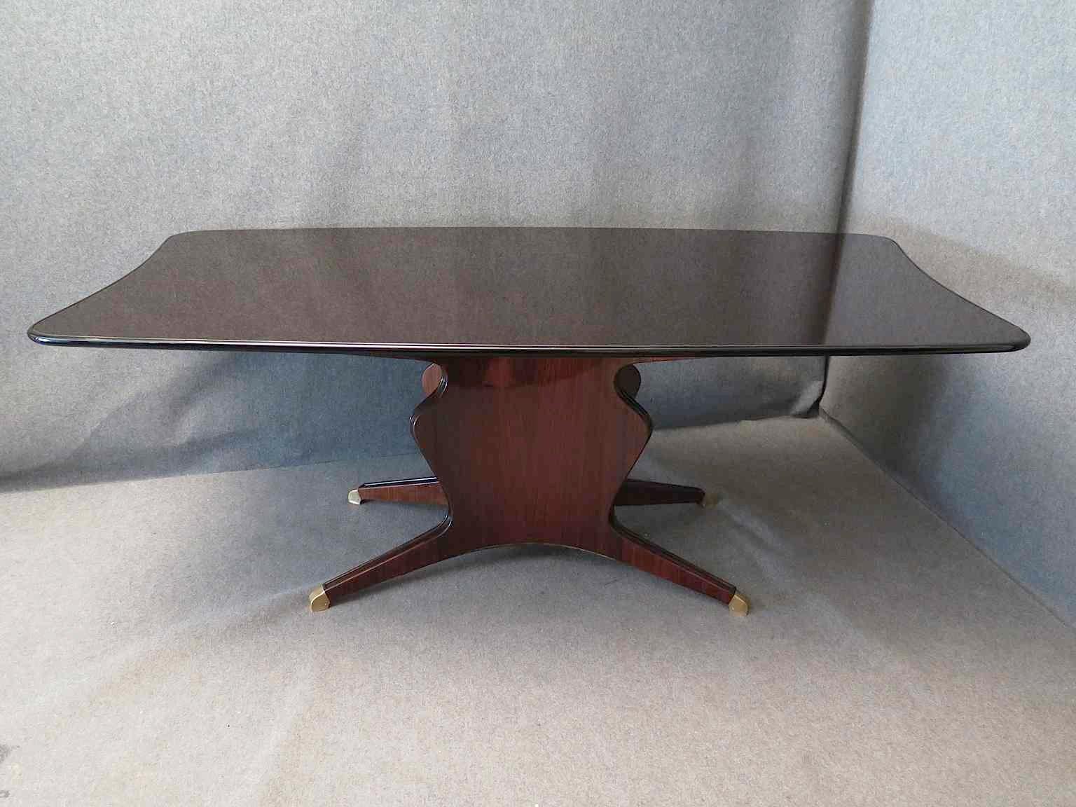 Esstisch von osvaldo borsani bei pamono kaufen for Designer esstisch italien