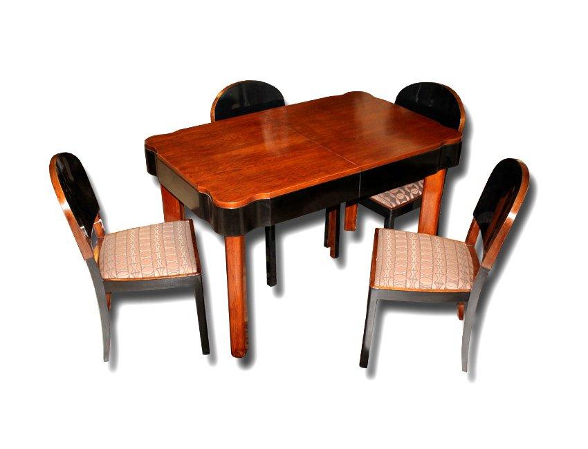 Set de salle manger art d co r publique tch que 1930s for Salle a manger 1930