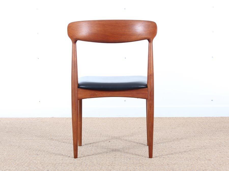 skandinavische teakholz st hle von johannes andersen f r uldum 1950er 4er set bei pamono kaufen. Black Bedroom Furniture Sets. Home Design Ideas