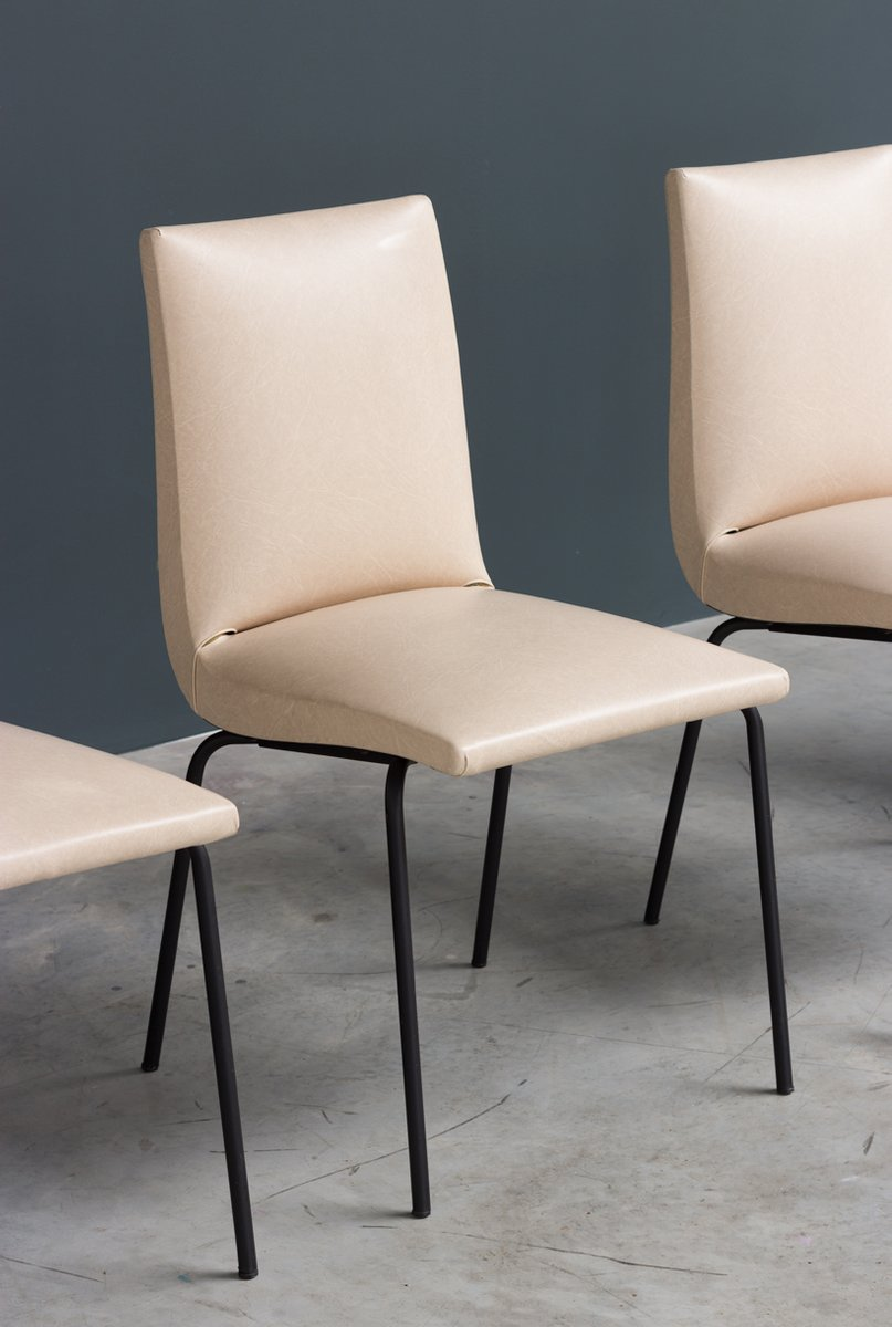 Mid Century Dining Chairs By Pierre Guariche For Meurop