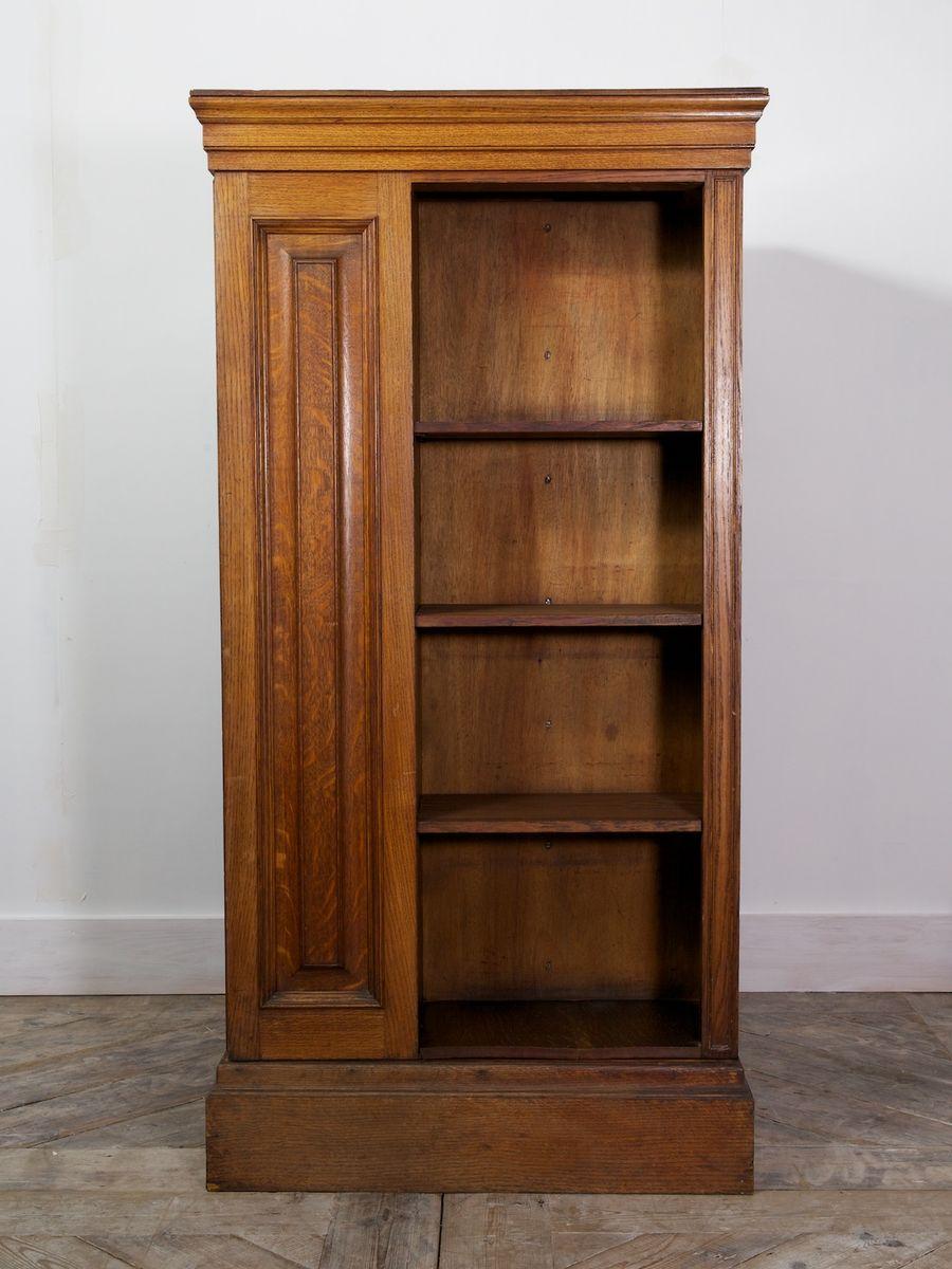grande biblioth que pivotante angleterre 1910s en vente. Black Bedroom Furniture Sets. Home Design Ideas