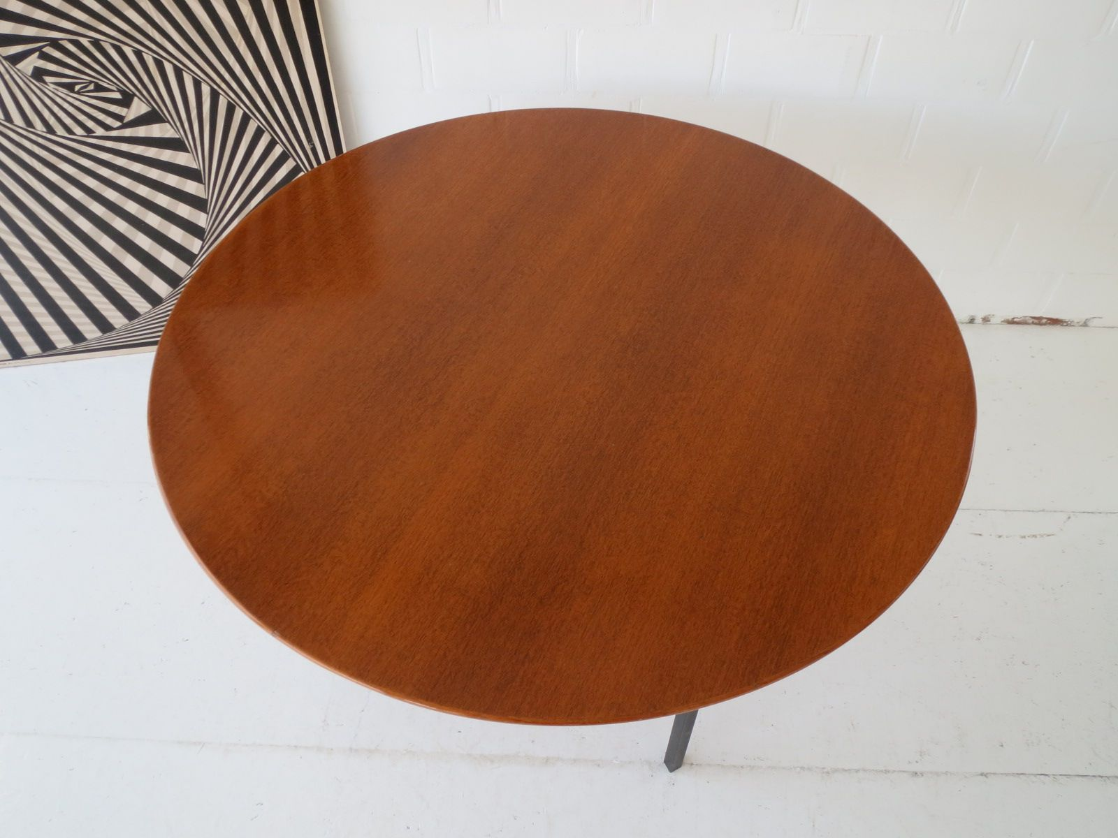 Vintage Belgian Teak Dining Table by Florence Knoll for  : vintage belgian teak dining table by florence knoll 3 from www.pamono.com size 1600 x 1200 jpeg 397kB