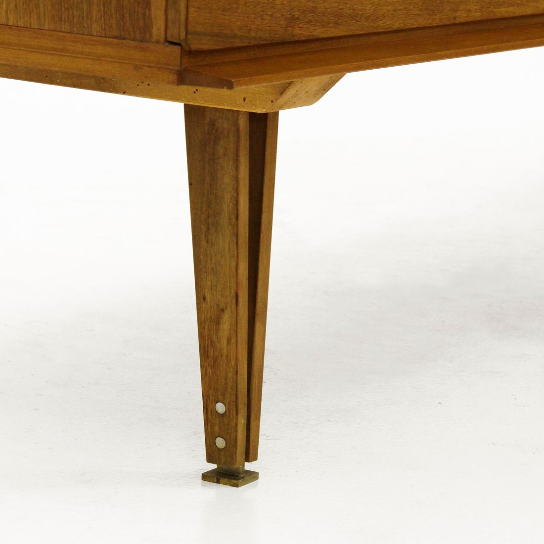 Table Dressing Wood 1950 Scarved ~ Italian dressing table with glass top s for sale at
