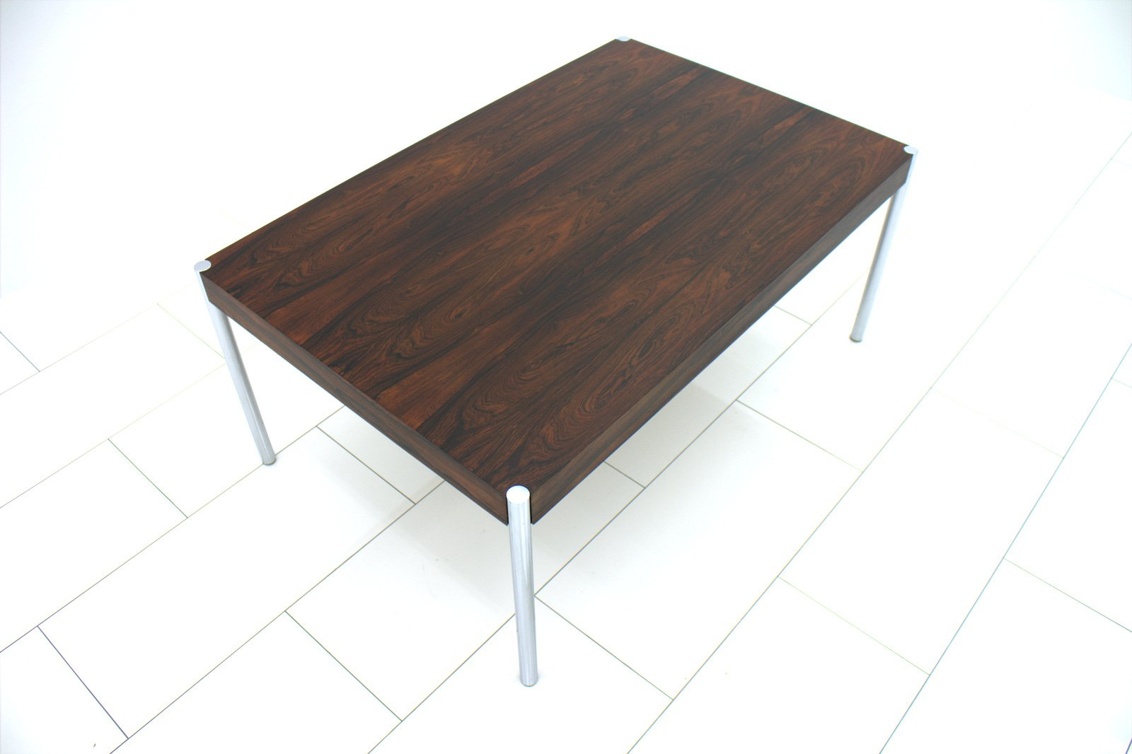 Swiss rosewood sofa table by edlef bandixen 1970s for for Sofa table sale