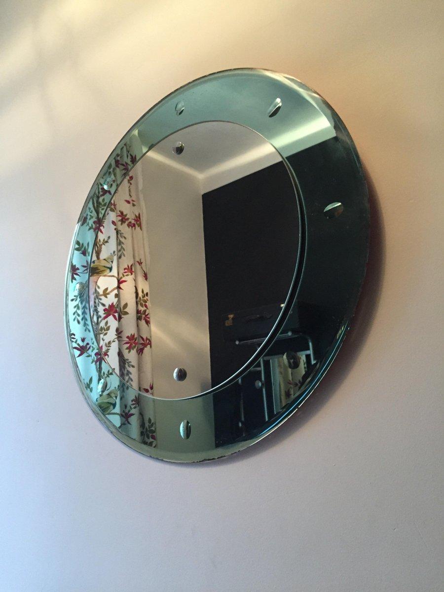 Italian art deco mirror 1930s for sale at pamono for Miroir art deco 1930